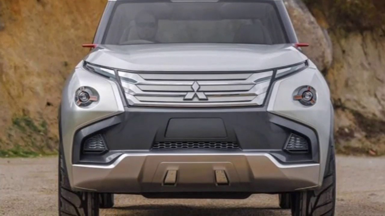 The New 2020 Pajero Sport Mitsubishi Concept Youtube