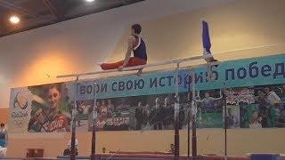 Сборная Мордовии заняла 2 место на первенстве ПФО по спортивной гимнастике