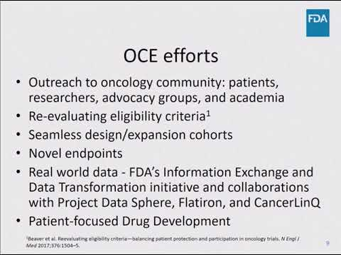 2018 Cholangiocarcinoma Foundation Annual Conference #11 - Day 3 - FDA Expedited Programs
