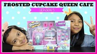 Mainan Anak ♥ SHOPKINS SEASON 5 Frosted Cupcake Queen Cafe