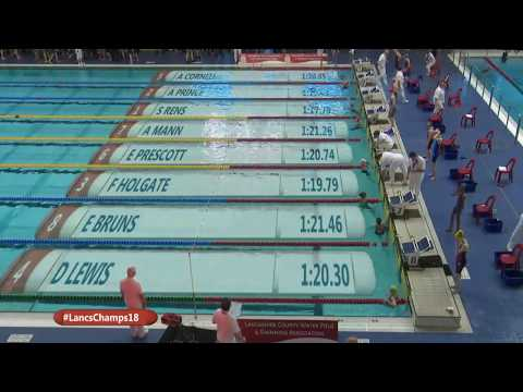 Lancashire County Swimming Championships 2018 Session 9