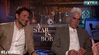 How Bradley Cooper & Sam Elliott Broke the Ice Before Filming 'A Star Is Born'