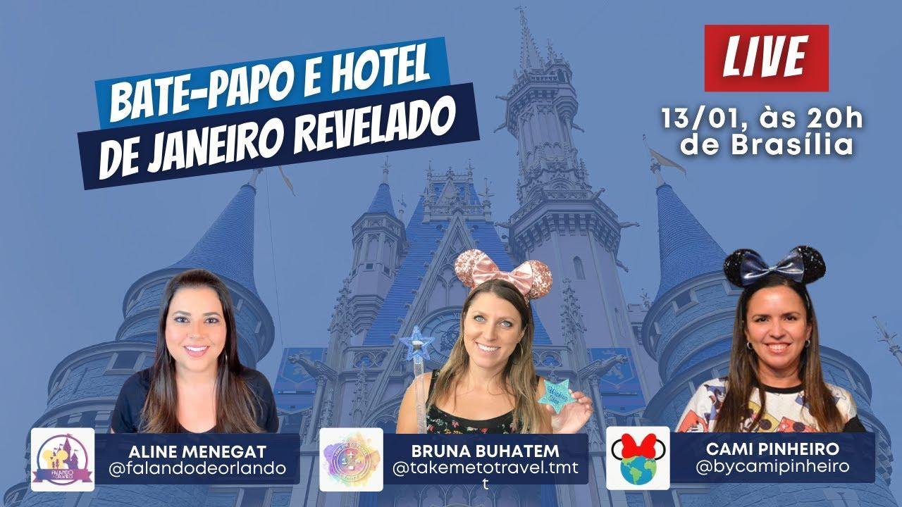 Bate-Papo e Hotel de Janeiro Revelado