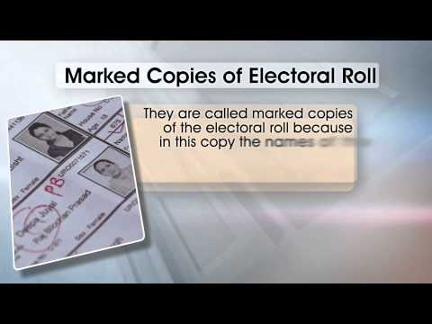 THE ELECTORAL ROLL