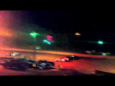 Joe Gibson #22 Heat 1 @ Laurens Speedway 10/6/2012