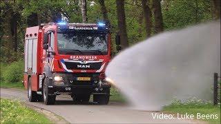Brandweer Garderen neemt nieuw Blusvoertuig in gebruik - Garderen 25 04 2018