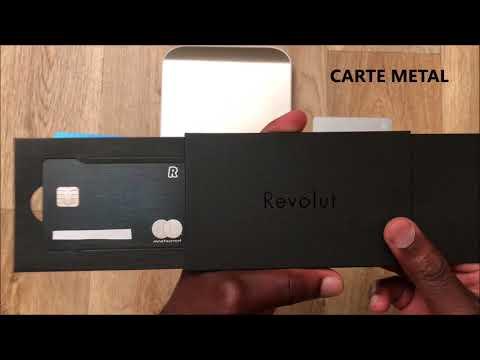 Card metal Revolut - YouTube