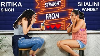 Shalini Pandey and Ritika Singh || Straight From Heart || Tip of the Tongue || Coffee in a Chai Cup