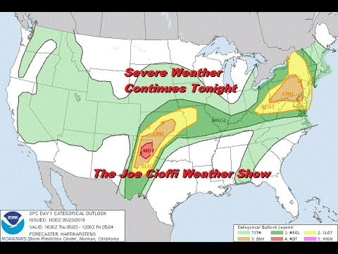 Memorial Day Holiday Weekend Outlook. Severe Weather Threats Continue In Parts of the US