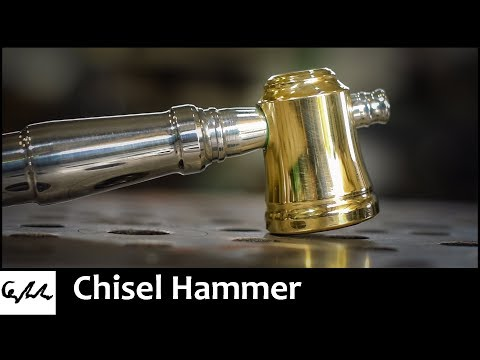 Making a chisel hammer