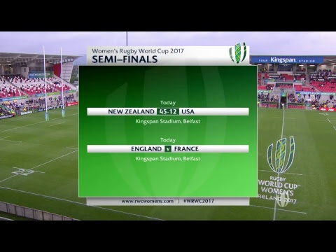 Women's Rugby World Cup - Semi Final - New Zealand v USA