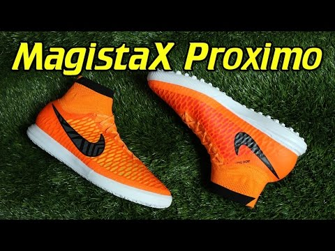 Nike MagistaX Proximo Indoor & Turf Total Orange - Review + On Feet