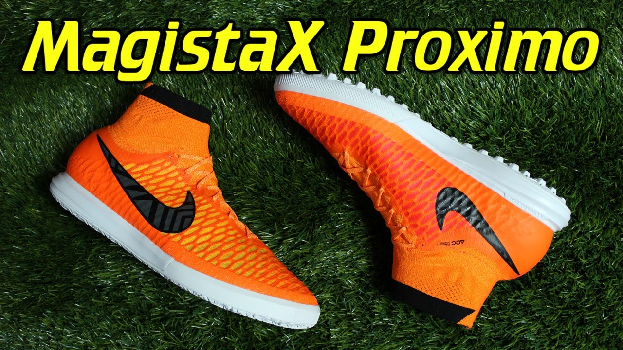Nike MagistaX Proximo Indoor & Turf Total Orange - Review + On Feet -  YouTube