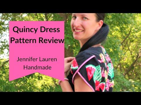Quincy Dress Pattern Review | JLH Patterns