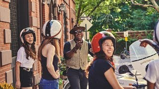 Dapper Tours NYC - exploring NEW YORK CITY in a sidecar