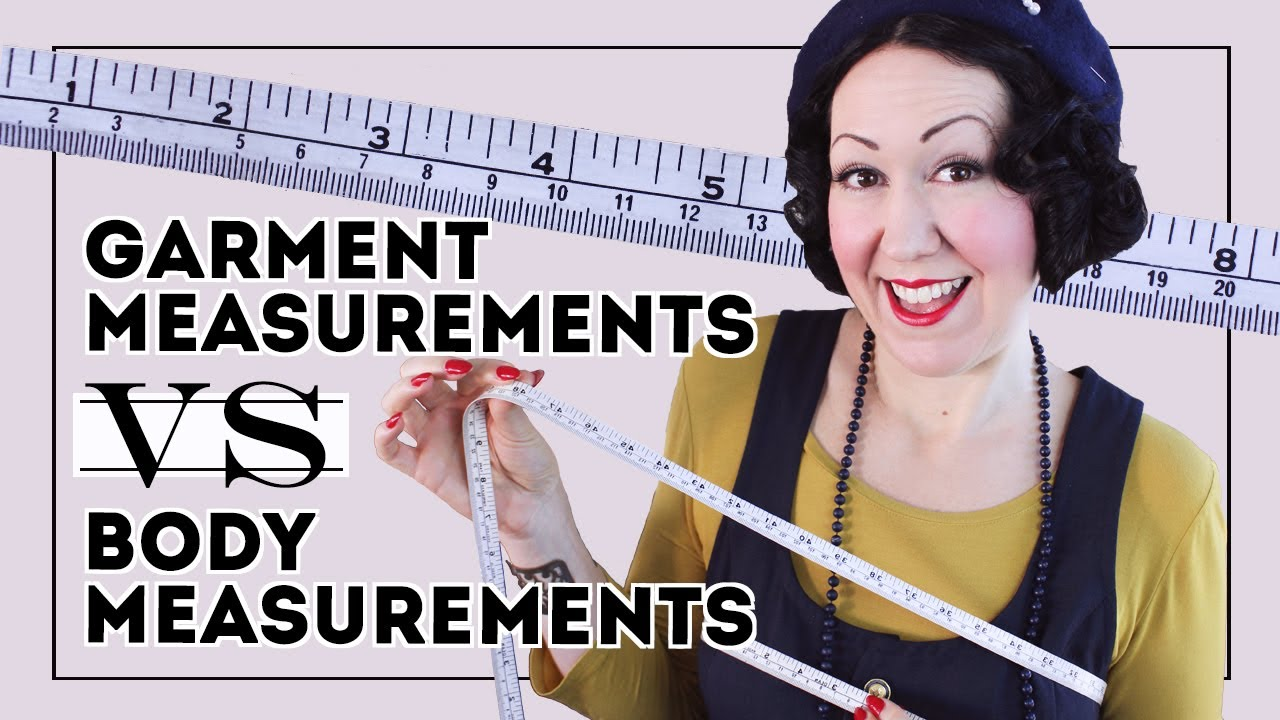 HOW TO FIND EASE ON A SEWING PATTERN? The measurements you REALLY need, garment vs body measurements