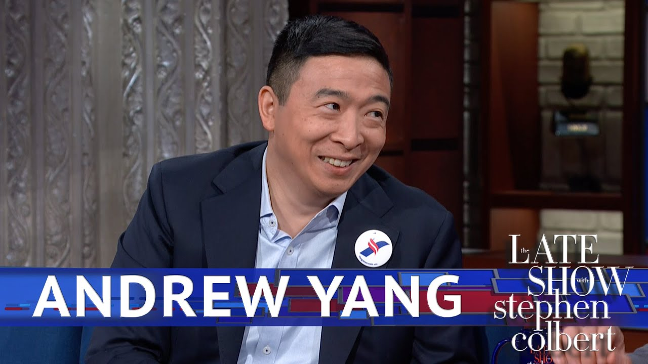 Andrew Yang reveals his debate surprise  $1000 a month for 10 more families