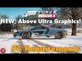 Forza Horizon 4: PC Version Will Have ABOVE ULTRA Setting! + FH4 System Requirements