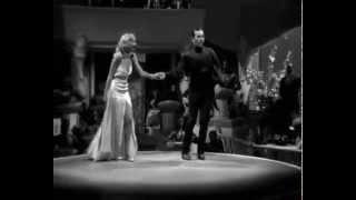"Carole Lombard e George Raft,1934.Fafá Lemos,Silvio Caldas.""Risque"" (Ary Barroso).Cinema."