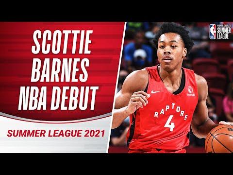 #4 Pick Scottie Barnes IMPRESSES in NBA Raptors Debut With 18 PTS 😮