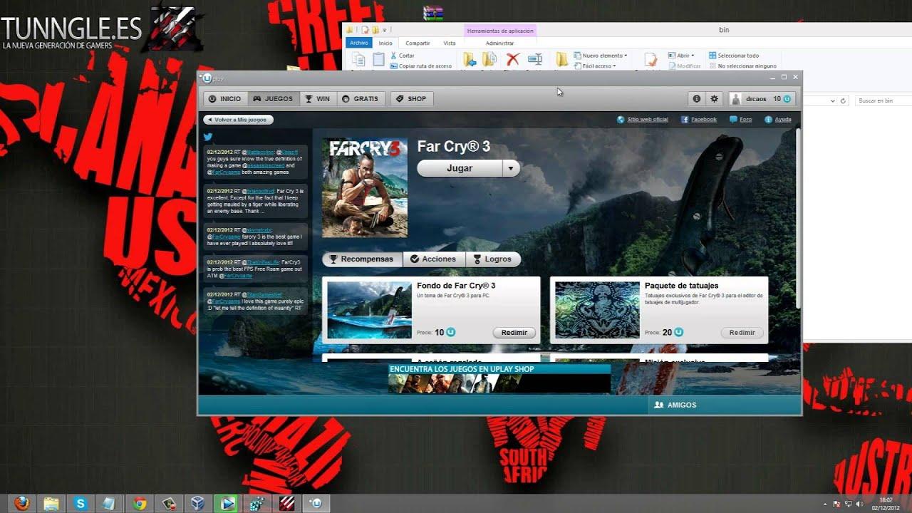 Tutorial: ¿Cómo jugar a Far cry 3 Online con TUNNGLE y Hamachi? [TUNNGLE ES]