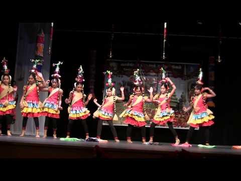 Karagattam Dance - Munthi Munthi Vinayaganey