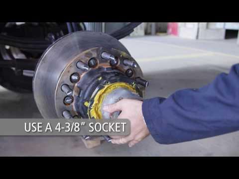 SAF New P89 Air Disc Brake Rebuild Procedure