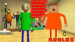 PLAY AS UPGRADED 2D BALDI AND JOE!! | The Weird Side of Roblox Baldi's Basics Role Play