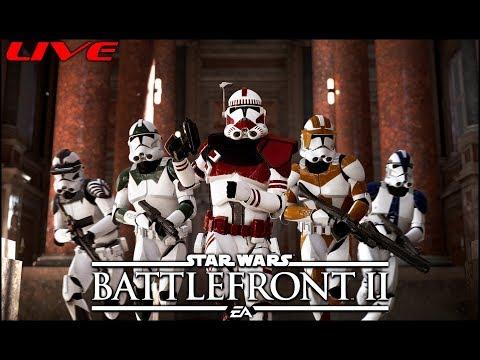 САЛАТ ИЗ ДРОИДОВ ПО КОРОЛЕВСКИ   Star Wars Battlefront 2   #starwars #battlefront #stream thumbnail
