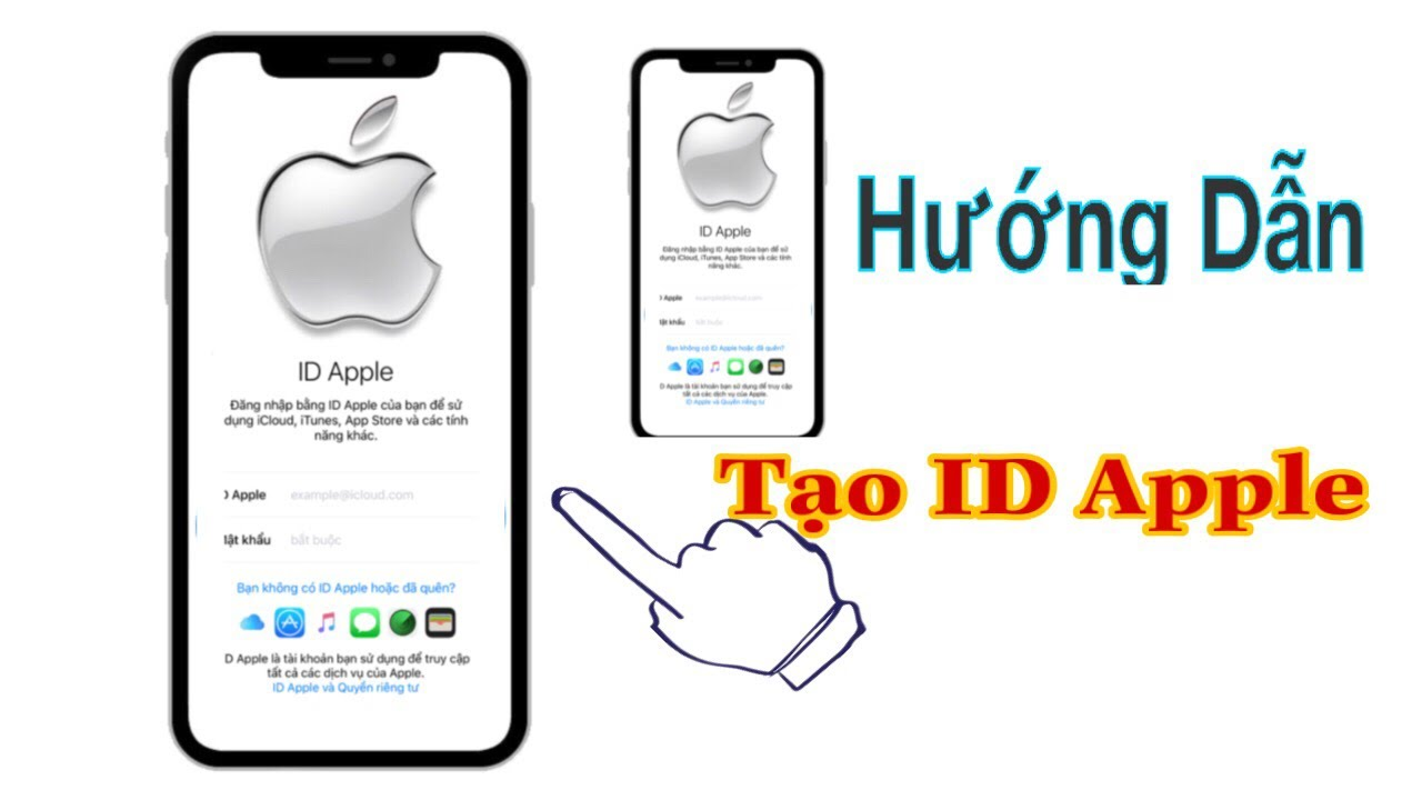 hướng dẫn tao tai khoản icloud trên iphone dơn giản nhất – Cách tạo tài khoản id apple