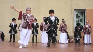 enver elik ilkokulu 3 b sınıfı kafkas oyunu gsterisi şeyh şamil azeri dans caucasus dance show