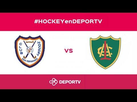 #HOCKEYenDEPORTV - DAMAS - San Fernando vs. Lomas