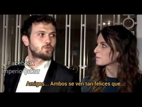 Aras Bulut Iynemli a la salida del casamiento de Necip Memili (Cumali) subtitulado