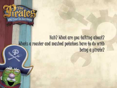 Veggie Tales We are the pirates who dont do anything lyrics