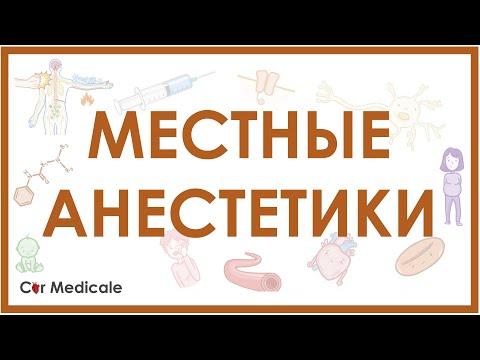 Местные анестетики - механизм действия, виды, побочные эффекты