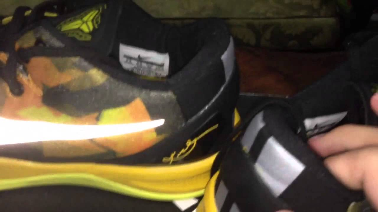 511090e0c5fa Kobe 8 System Sulfur (Replicas) Review - YouTube