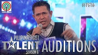 Pilipinas Got Talent 2018 Auditions: Antonio Tejano - Sing and Dance with Boxing Moves