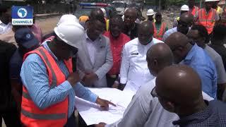 Progress On Lagos Construction Of Oshodi Transport Interchange |Dateline Lagos|