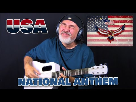US National Anthem 2020! (The Star-Spangled Banner) – solo acoustic guitar