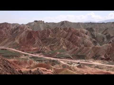 The Zhangye national geopark / Le parc géologique de Zhangye (Gansu - China)
