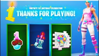 HOW TO UNLOCK THE BIRTHDAY BACKPACK IN Fortnite Battle Royale