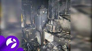 В Новом Уренгое горела квартира в пятиэтажке. Время Ямала.