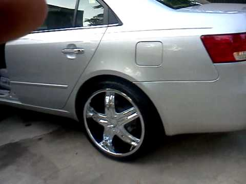 2006 Hyundai Sonata On 20 S Youtube