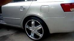 2006 Hyundai Sonata on 20's