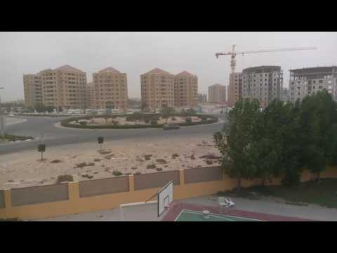 Strong wind in Dubai