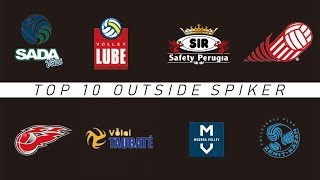 TOP 10 OUTSIDE SPIKER | Best Player In The World