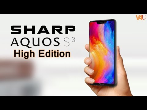 SHARP AQUOS S3 High Edition Price, Release Date, Specs, Features, Camera, First Look, Launch