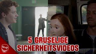 5 Sicherheitsvideos, die ihr nie wieder vergessen werdet!
