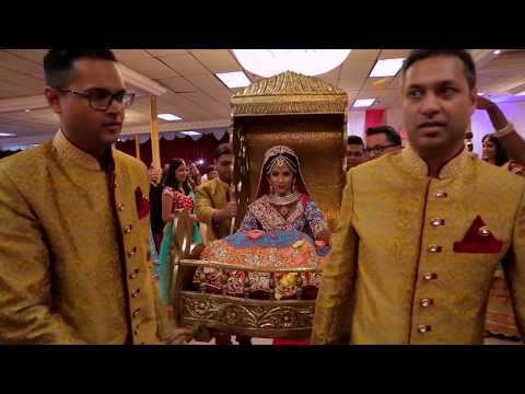Indian Bride Bollywood Entrance - Tum Tak - official video