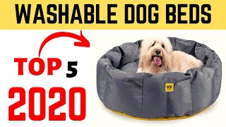 Best Washable Dog Beds 2020 | Waterproof Washable Dog Bed.